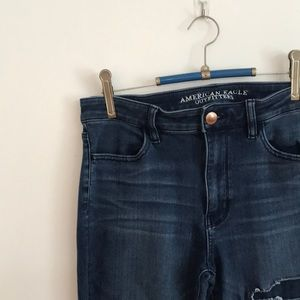 American Eagle Skinny Jeans High Waist Jeggings 12